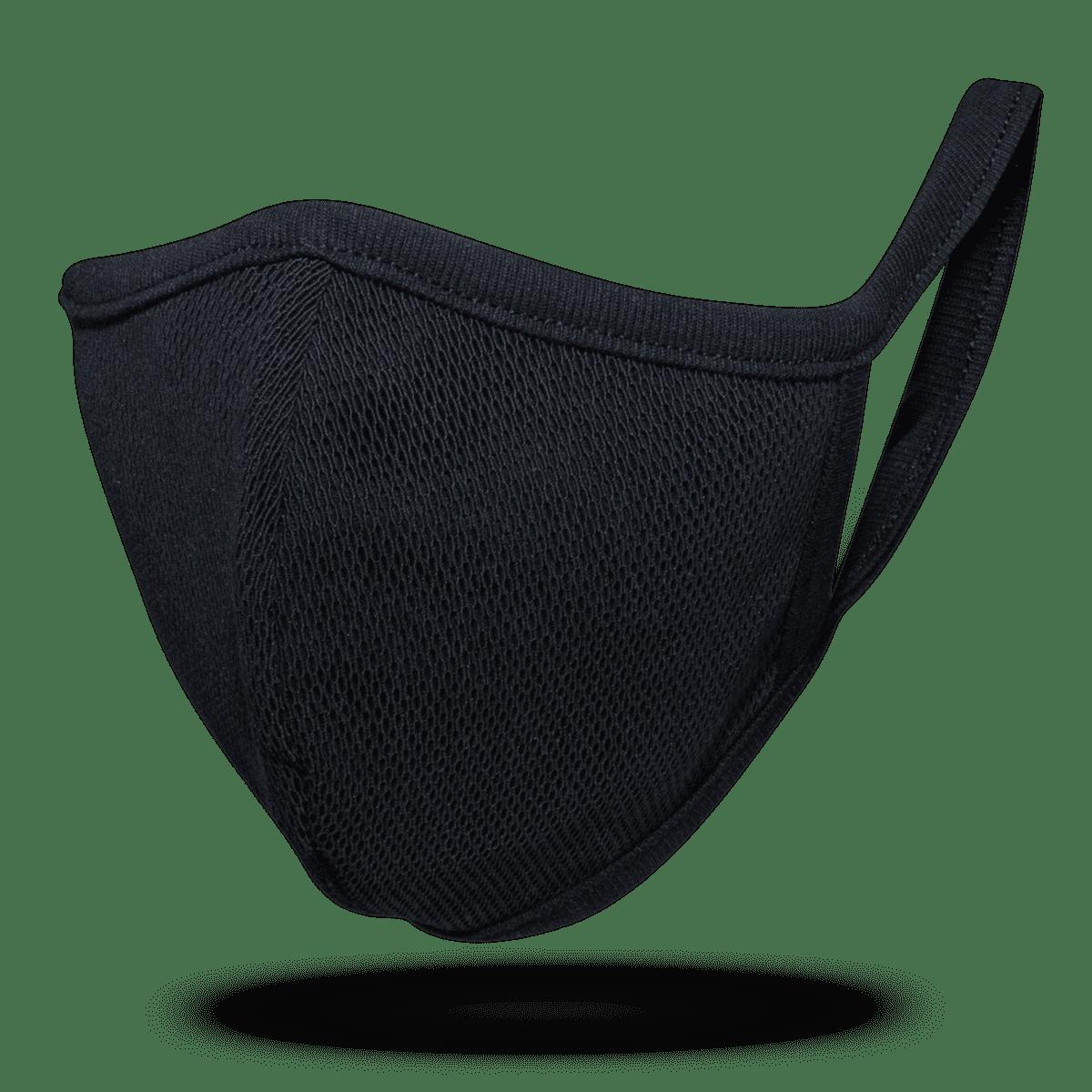 3×3(サンサン)マスク ブラックメッシュ