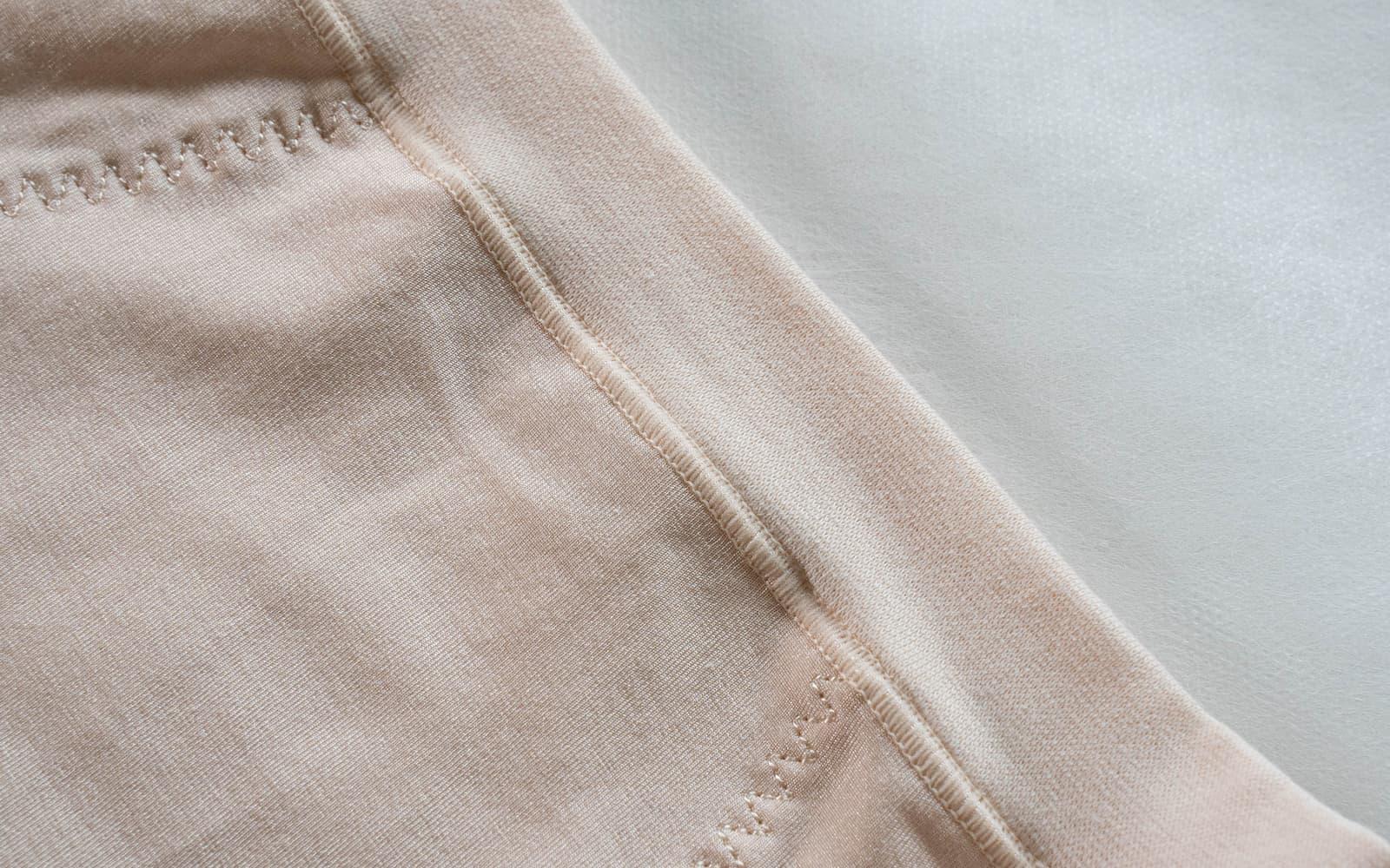 ポケット付きサニタリー(幅広スパンゴム)